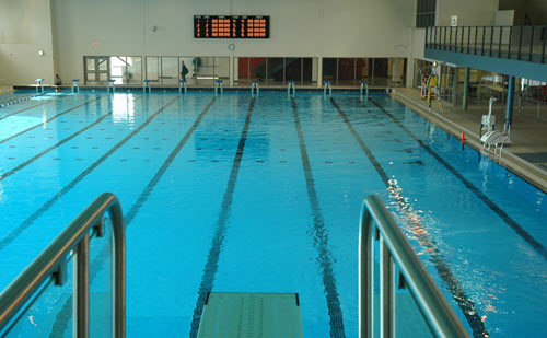 Aquatic timing photo gallery daktronics products for Club piscine longueuil